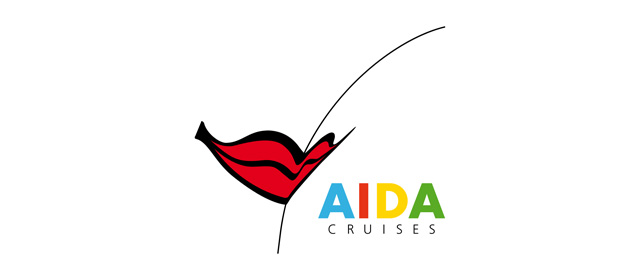 Logo der AIDA Cruises.
