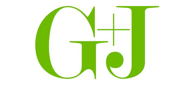 Logo des Medienunternehmens Gruner + Jahr.