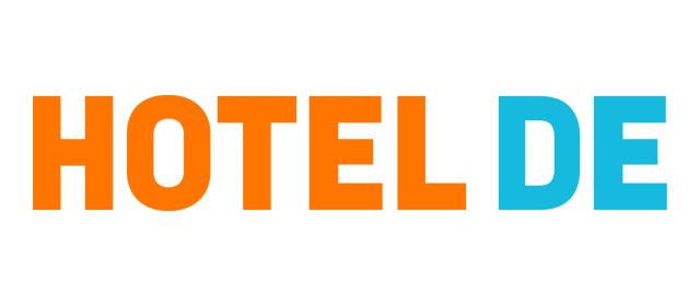 Logo der Hotelbuchungsplattform Hotel DE.