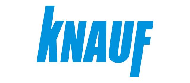 Logo des Unternehmens Knauf.