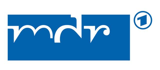 Logo des Mitteldeutschen Rundfunks.