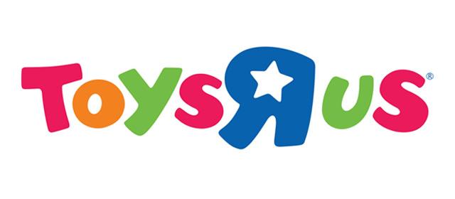 """Logo des Unternehmens Toys """"R"""" Us."""