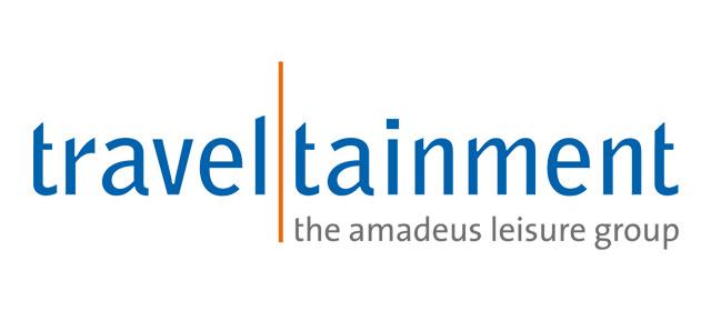 Logo der Traveltainment GmbH.