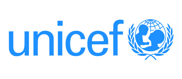 Logo des Kinderhilfswerk der Vereinten Nationen UNICEF.