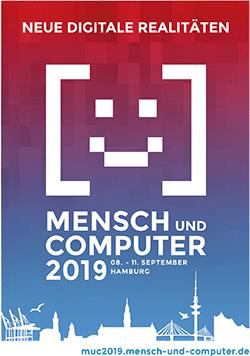 """Flyer der Messe """"Mensch und Computer 2019"""""""