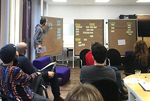 Strategie Workshop am Teamtag.