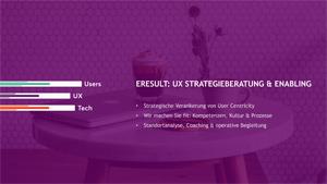 Titelbild UX Strategieberatung & Enabling