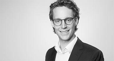 Schwarzweiß Personenbild von Xaver Bodendörfer.