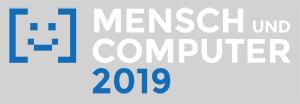 Logo der Messe Mensch und Computer 2019
