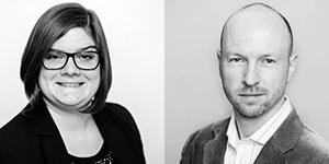 Personenbilder von Janine Fischer und Ingmar Steinicke.