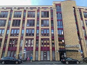 Außenansicht des Kölner Büros.