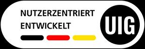 Logo des UIG Siegels