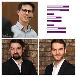 eresult Referenten Bitkom Online-Seminare: UX-Experten Martin Beschnitt, Richard Bretschneider und Robin Nagel