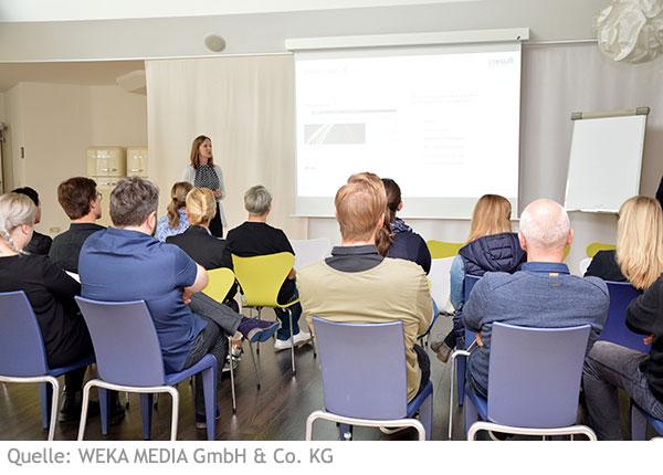 Vortrag von Senior User Experience Consultant Melanie Wieland bei WEKA MEDIA
