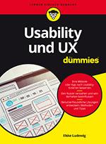 """Titelbild des Buchs """"Usability und UX für Dummies"""""""