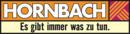 Logo des Baumarkts Hornbach.