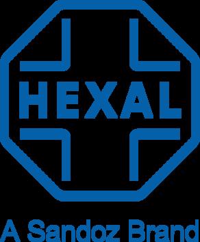 Logo der Hexal AG.