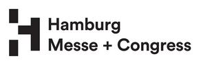 Logo des Unternehmen Hamburg Messe + Congress.