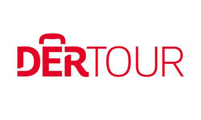 Logo des Reiseunternehmens DERTOUR.