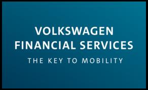 Logo der Volkswagen Financial Services AG.