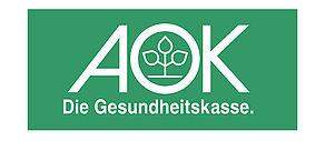 Logo der Krankenkasse AOK.