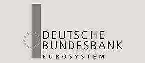 Schwarzweiß Logo der Deutschen Bundesbank.