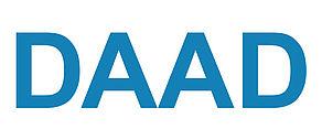 Logo des Deutschen Akademischen Austauschdienstes.