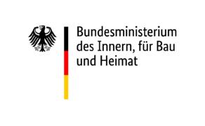 Logo des Bundesministerium des Innern für Bau und Heimat.