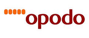 Logo des Online Reiseportals Opodo.
