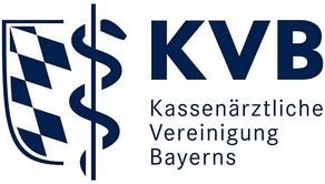 Logo der kassenärztlichen Vereinigung in Bayern.
