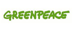 Logo der Organisation Greenpeace.