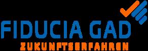 Logo des Unternehmen Fiducia GAD.
