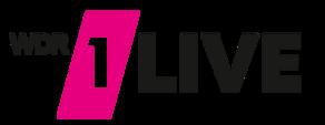 Logo des Sender 1Live des WDRs.