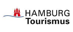 Logo der HAMBURG Tourismus GmbH.