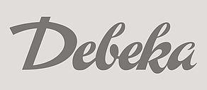 Schwarzweiß Logo der Versicherungsgruppe Debeka.